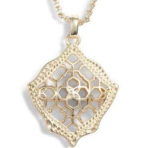 Kendra Scott Filigree Pendant Necklace